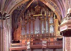 XVI century organ, Cathedral of Lavaur, France
