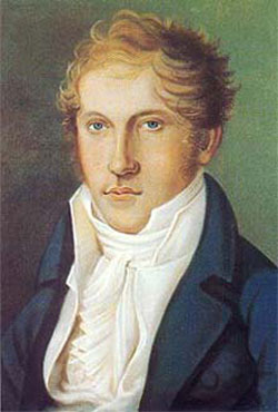 Louis Spohr self-portrait
