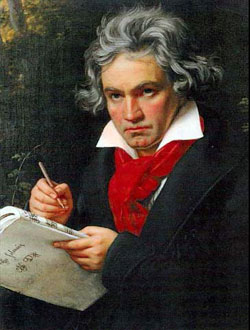 Beethoven's Fifth and Sixth symphonies characterized the beginning of the Romantic Period