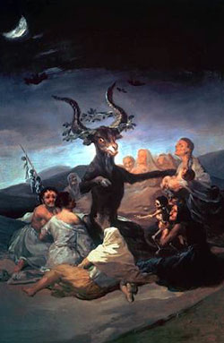 The Witches' Sabbath (1797-1798) by Francisco de Goya